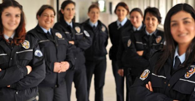 Kadın polisler başörtü takabilecek