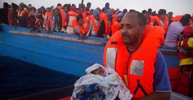 Libya açıklarında 6500 sığınmacı kurtarıldı