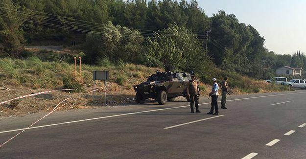 Osmaniye'de polise EYP'li saldırı