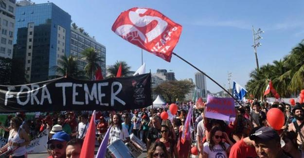 Rio 2016 Olimpiyat Oyunları protestolarla başladı