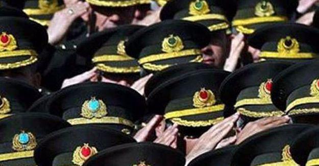 TSK'de 167 general ve amirale atama