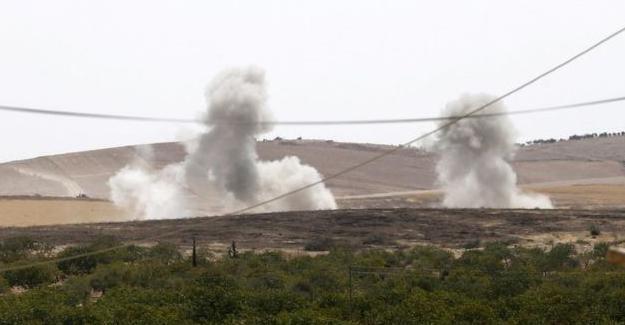 TSK, Cerablus'un güneyinde 'SDG'yi vurdu' iddiası