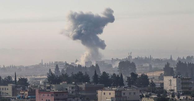 TSK Cerablus'ta radyo binasını bombaladı