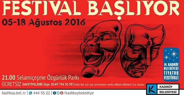 Ücretsiz Tiyatro Festivali başlıyor