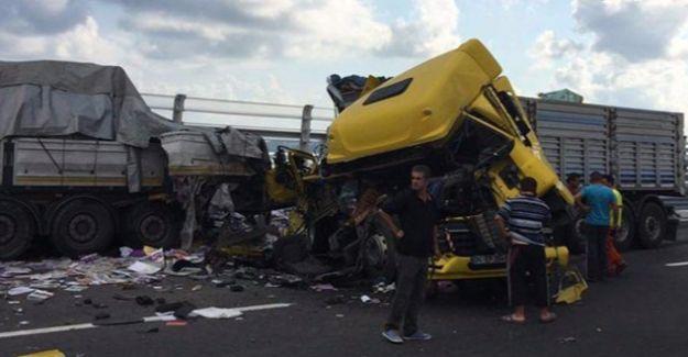 Üçüncü köprüde özçekim kazası ölüme yol açtı