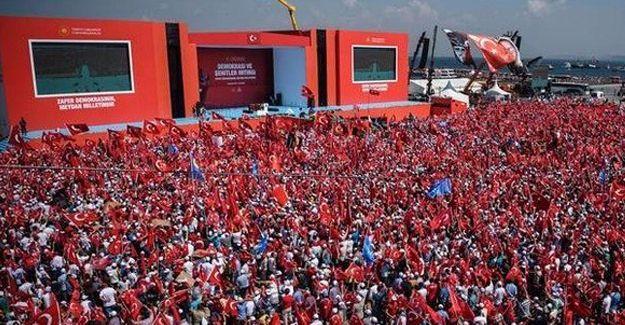 Yenikapı mitinginde Kılıçdaroğlu anonsuna yuhalama