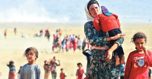 Almanya'dan Ezidi kadınlara yardım projesi