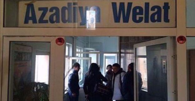 Azadiya Welat'ın 2 çalışanı gözaltında