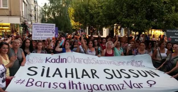 Barış İçin Kadın Girişimi'nden 'savaşa hayır' eylemi yarın