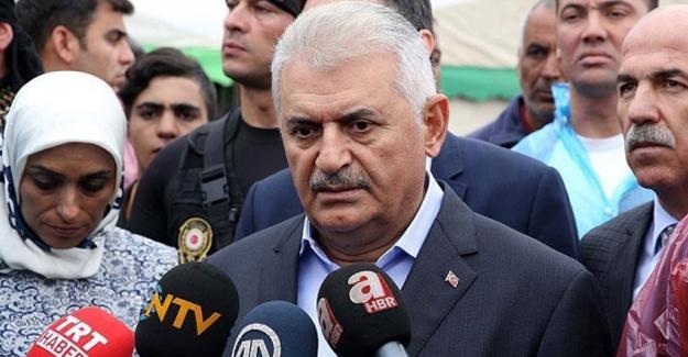 Başbakan: Suriye'deki oyunu Türkiye'de oynamaya çalışıyorlar