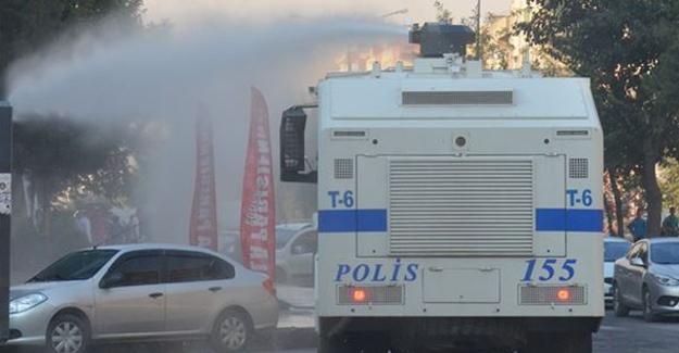 Batman'daki protestoya polis saldırısı