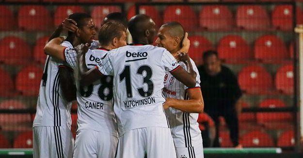Beşiktaş deplasmanda 3 puanı aldı