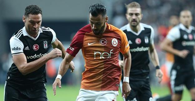 Beşiktaş-Galatasaray karşılaşması sona erdi