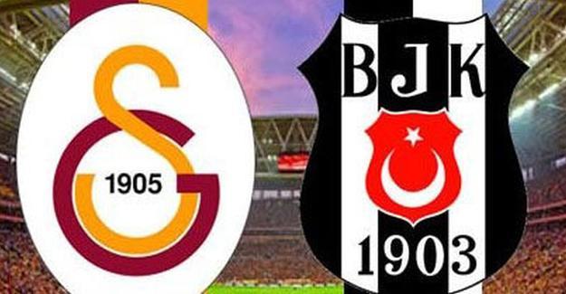 Beşiktaş - Galatasaray maçının ilk 11'leri