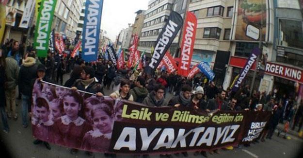 Bu kez Mersin: Laiklik bildirisi dağıtan HAZİRAN üyeleri gözaltına alındı