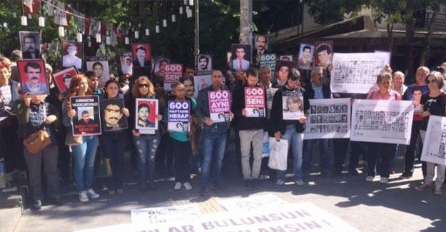 Cumartesi Anneleri'ne Ankara ve İzmir'den destek