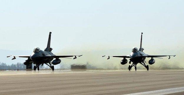 Dağlıca'ya hava saldırısı