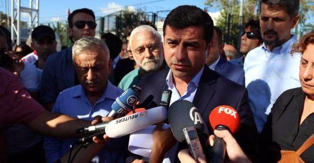 Demirtaş'tan Adalet Bakanı'na 'Öcalan' yanıtı