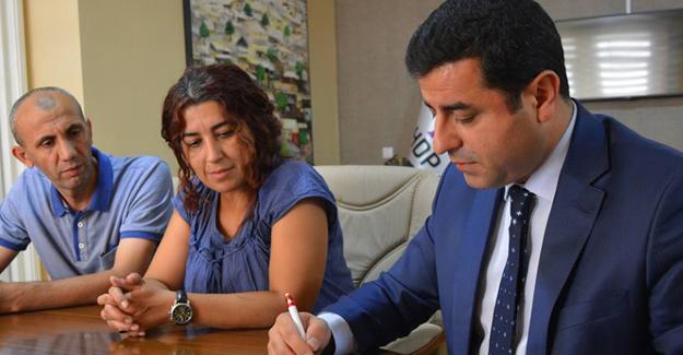 Demirtaş Kurban Vekaletini Rojava Derneği'ne bağışladı