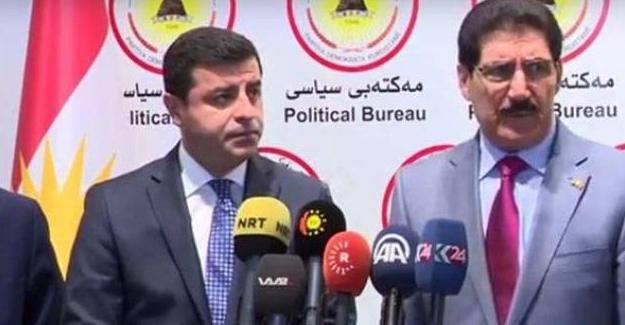 Demirtaş ve KDP'den ortak açıklama