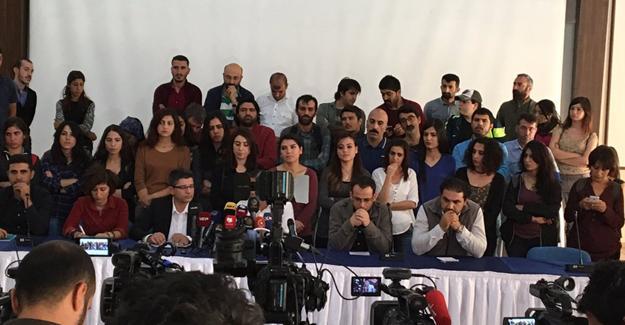 Diyarbakır'da kapatılan medya çalışanlarından açıklama