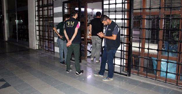 DTK binasına polis baskını