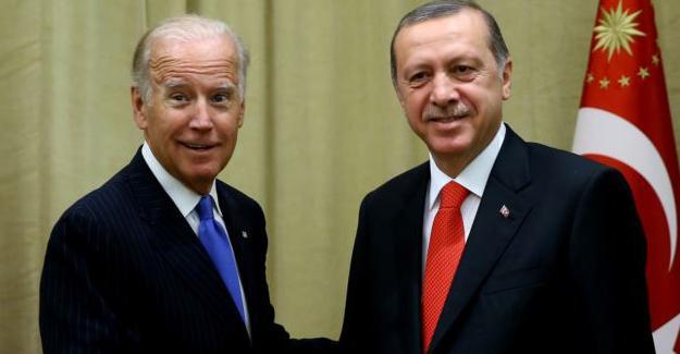Erdoğan, Biden ile görüştü