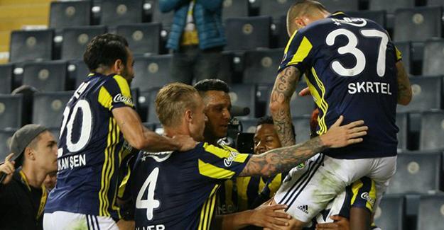 Fenerbahçe'den Antep'e puan yok