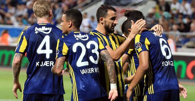 Fenerbahçe Kasımpaşa'yı farklı yendi