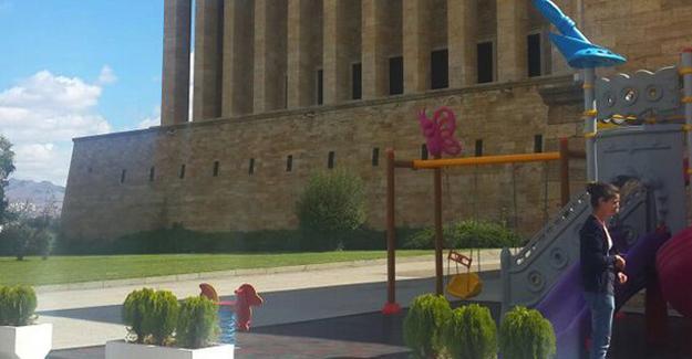 Genelkurmay'dan Anıtkabir'deki oyun parkıyla ilgili açıklama
