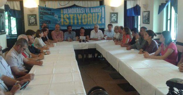 'Güç Birliği'nin çağrısıyla il il 1 Eylül barış mitingleri