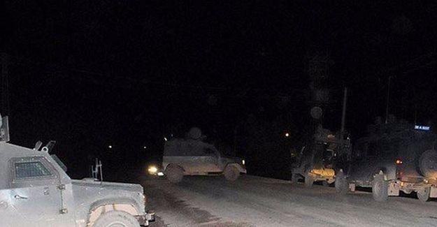 Hakkari Çukurca'da askeri aracın geçişi sırasında patlama
