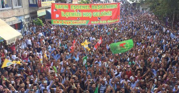 HDP Bulanık İlçe Eş Başkanı gözaltına alındı