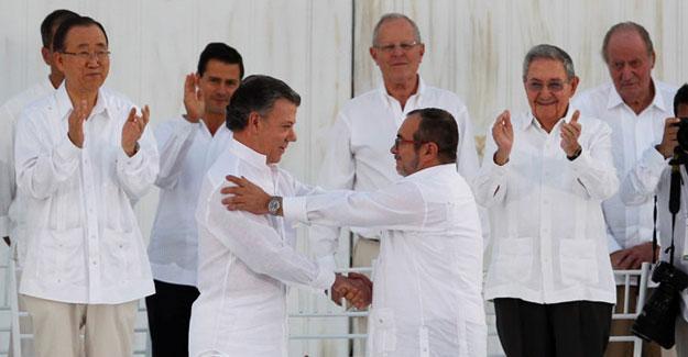 HDP'den FARC ve Kolombiya hükümetine mektup