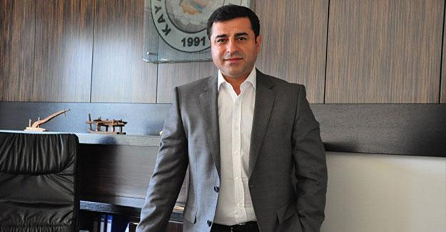 HDP Eş Genel Başkanı Demirtaş ifadeye çağrıldı
