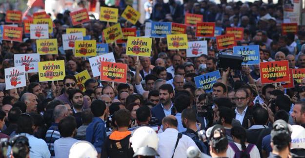 Kayyuma karşı birçok ilde protesto eylemleri