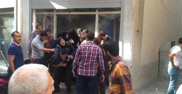 Kilis'e roketli saldırı: Yaralılar var