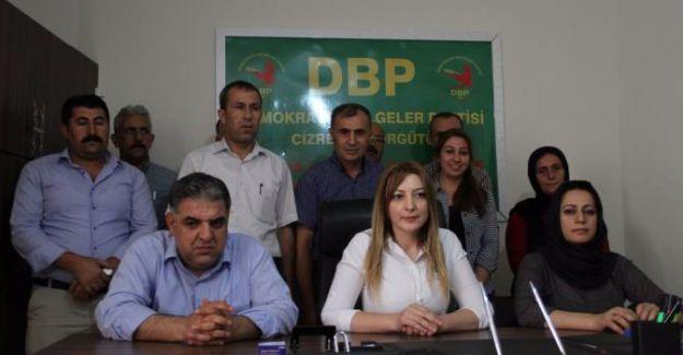 Leyla İmret: Cizre'de belediye çalışmaları DBP'den yürütülecek