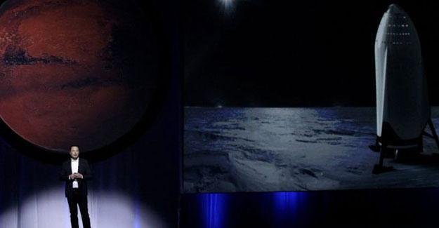 Mars'a taşınıyoruz, biletler 200 bin dolar