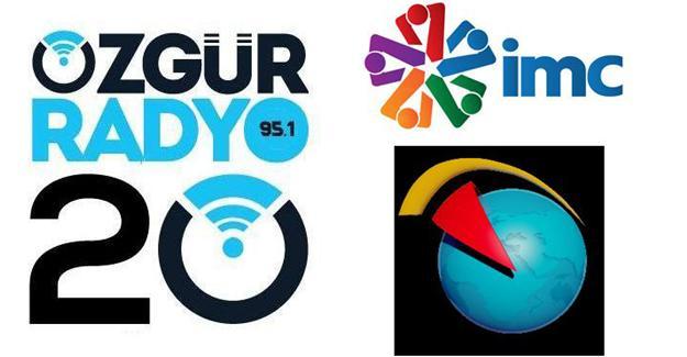 Medyaya sansür: İMC TV, Hayatın Sesi ve Özgür Radyo'ya erişim engeli