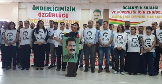Mehmet Öcalan ve açlık grevindekiler saat 14'te açıklama yapacak