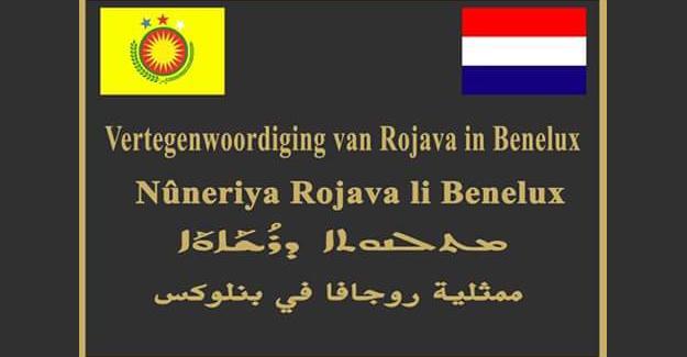 Rojava Benelüks Temsilciliği açılıyor