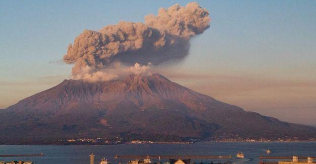 Sakurajima Yanardağı'nda büyük bir patlama bekleniyor