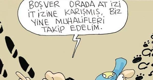 Sefer Selvi, Erdoğan'ın 'At izi it izine karıştı' açıklamasını çizdi