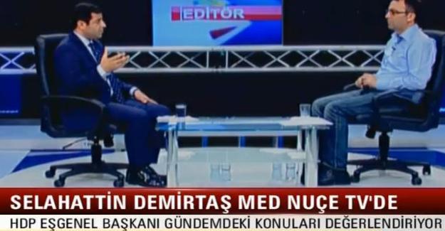 Selahattin Demirtaş: Tüm AKP'li belediyelere kayyum atanması lazım