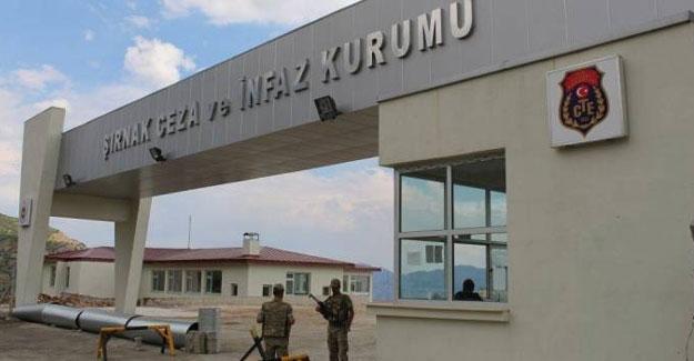 Şırnak Cezaevi'nde 1 mahkum hayatını kaybetti