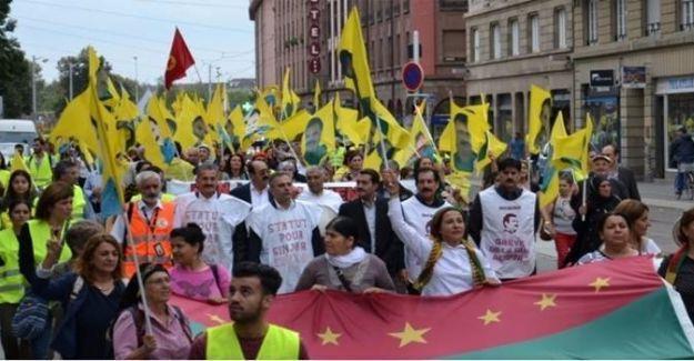 Avrupa'da 'Öcalan'a özgürlük' eylemi