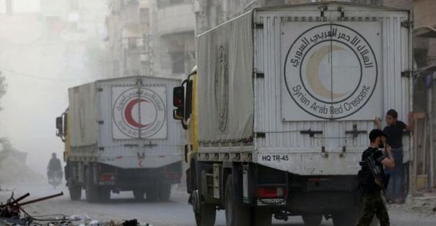 Suriye ve Rusya: Yardım konvoyunu biz vurmadık