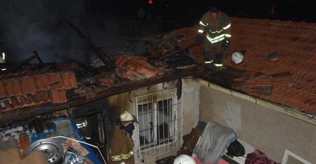 Suriyeli ailenin evinde çıkan yangında 1 kişi hayatını kaybetti