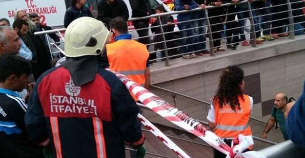 Taksim'de metro seferleri normale döndü